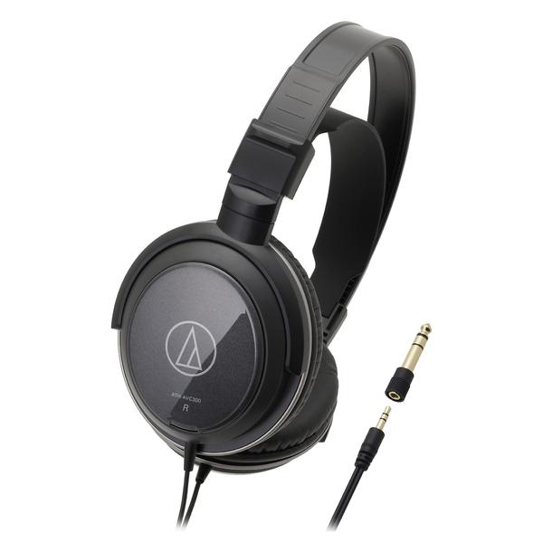 Охватывающие наушники Audio-Technica ATH-AVC300 Black охватывающие наушники audio technica ath a550z black