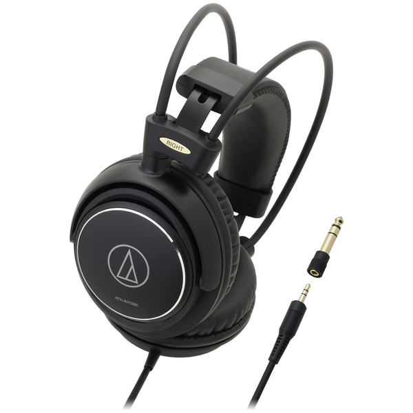 Охватывающие наушники Audio-Technica ATH-AVC500 Black наушники audio technica ath pro5mk3 black