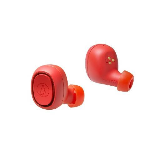 Беспроводные наушники Audio-Technica ATH-CK3TW Red