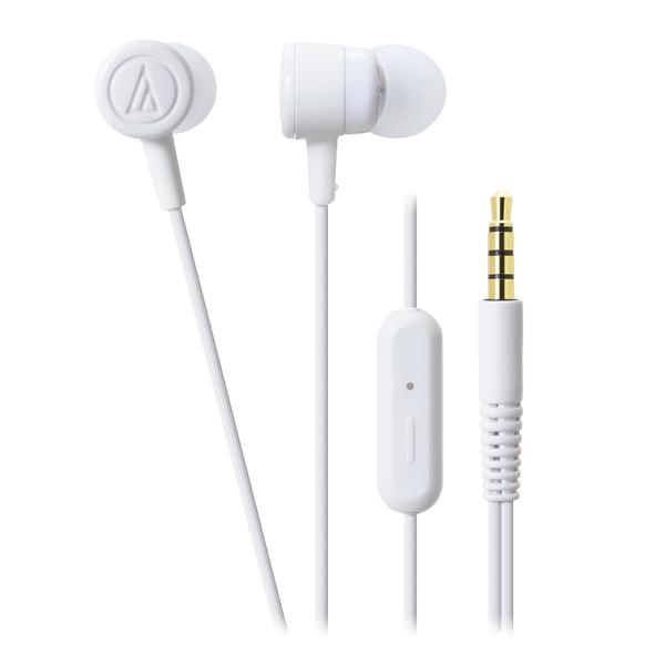 Внутриканальные наушники Audio-Technica ATH-CKL220iS White