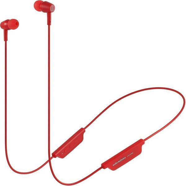 Фото - Беспроводные наушники Audio-Technica ATH-CLR100BT Red беспроводные наушники audio technica ath s200bt gray blue