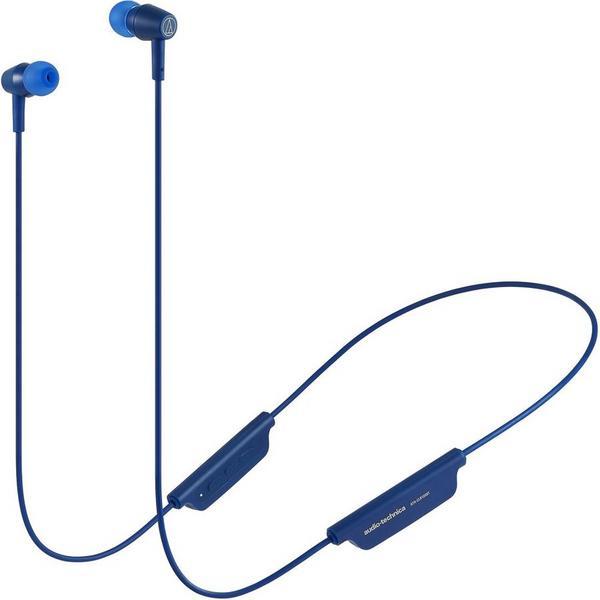 Фото - Беспроводные наушники Audio-Technica ATH-CLR100BT Blue беспроводные наушники audio technica ath s200bt gray blue
