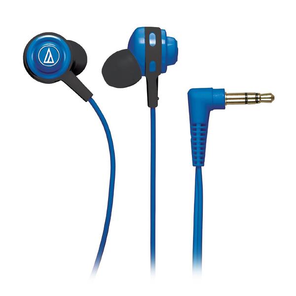 лучшая цена Внутриканальные наушники Audio-Technica ATH-COR150 Blue