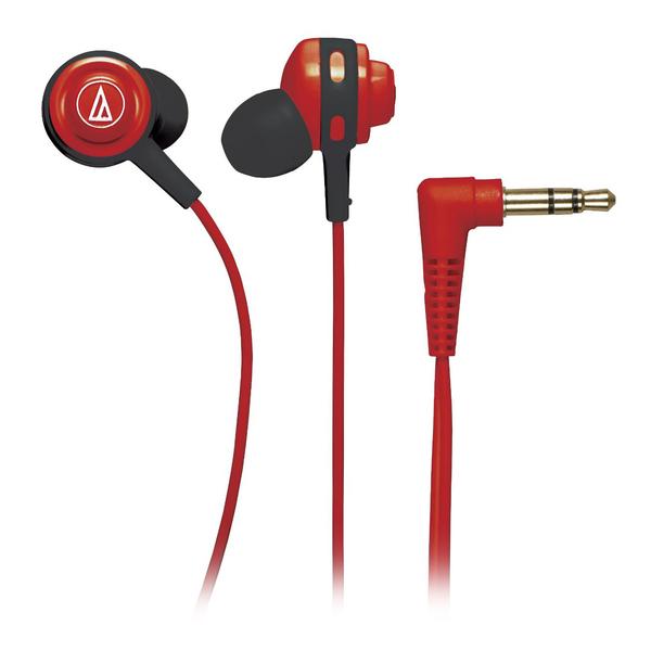 Внутриканальные наушники Audio-Technica ATH-COR150 Red внутриканальные наушники audio technica ep3