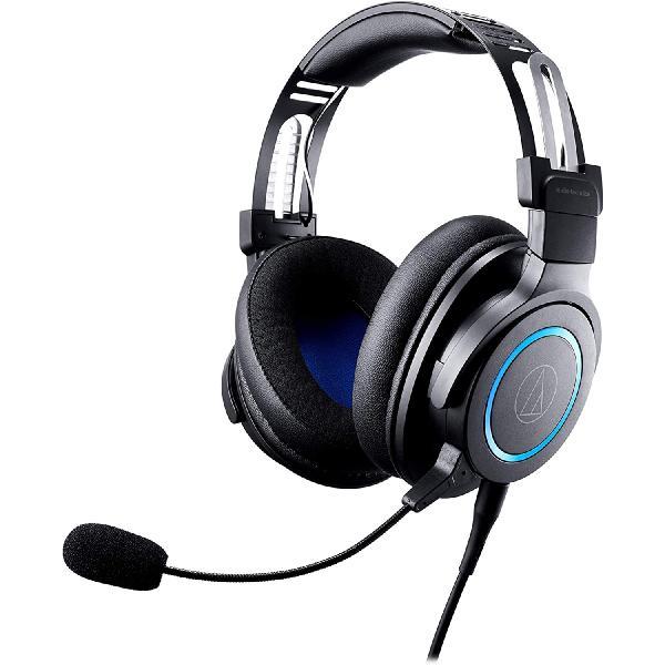 игровые центры Охватывающие наушники Audio-Technica Игровые наушники с микрофоном ATH-G1 Black