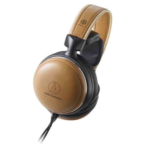 Охватывающие наушники Audio-Technica ATH-L5000 Brown охватывающие наушники audio technica ath m50x white