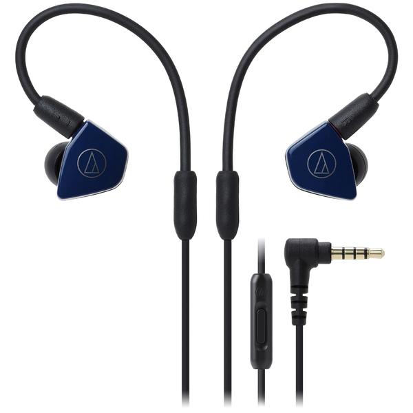 лучшая цена Внутриканальные наушники Audio-Technica ATH-LS50iS Navy