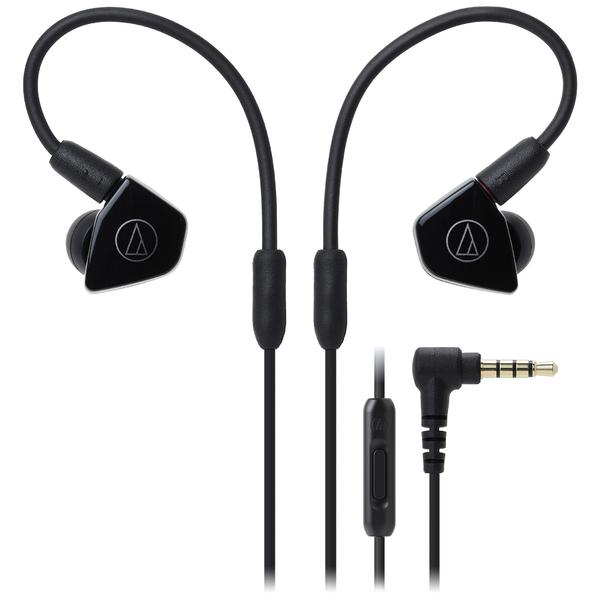 лучшая цена Внутриканальные наушники Audio-Technica ATH-LS50iS Black