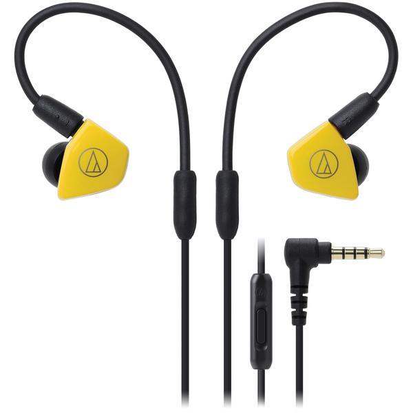 лучшая цена Внутриканальные наушники Audio-Technica ATH-LS50iS Yellow