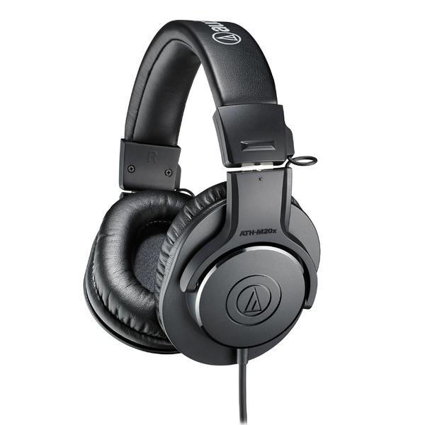 Охватывающие наушники Audio-Technica ATH-M20X Black охватывающие наушники audio technica ath m50x black