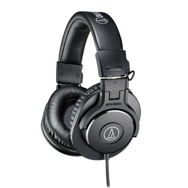 Охватывающие наушники Audio-Technica ATH-M30X Black охватывающие наушники audio technica ath pro5mk3 black