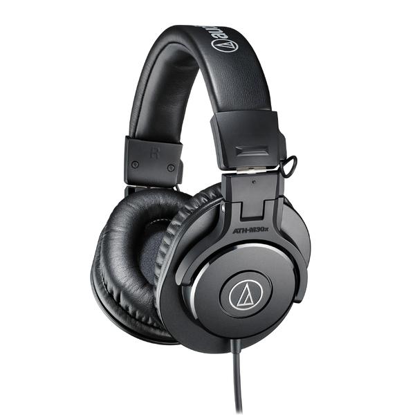 Охватывающие наушники Audio-Technica ATH-M30X Black наушники полноразмерные audio technica ath m50x black