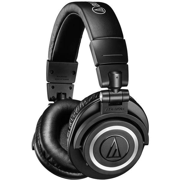 Беспроводные наушники Audio-Technica ATH-M50XBT Black sony wi c400 black беспроводные наушники