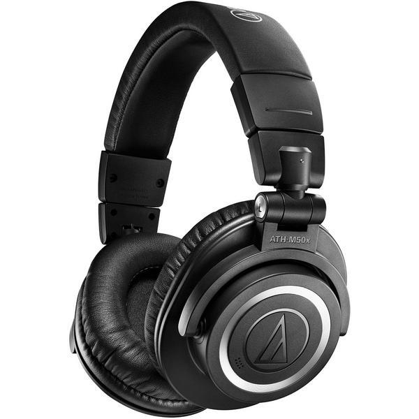 Фото - Беспроводные наушники Audio-Technica ATH-M50xBT2 Black беспроводные наушники audio technica ath s200bt gray blue