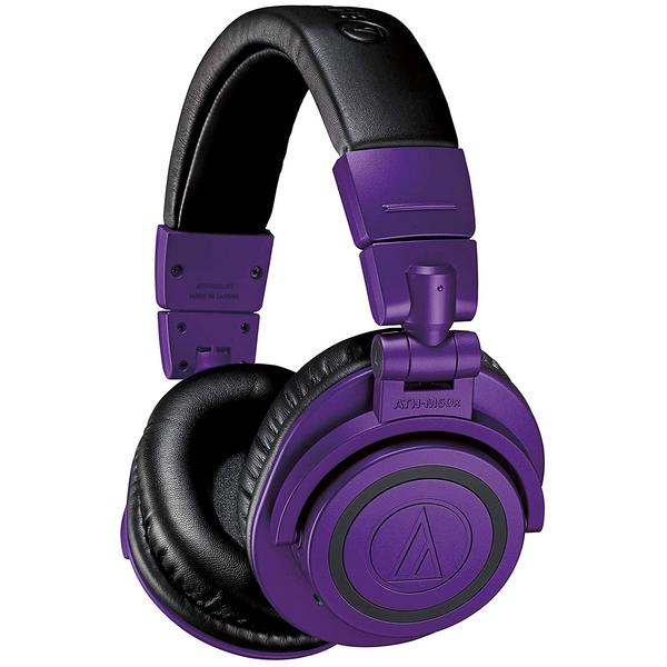 Фото - Беспроводные наушники Audio-Technica ATH-M50XBT Purple/Black беспроводные наушники yamaha tw e3b purple
