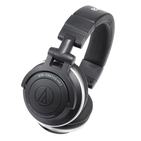 Охватывающие наушники Audio-Technica ATH-PRO700MK2 Black