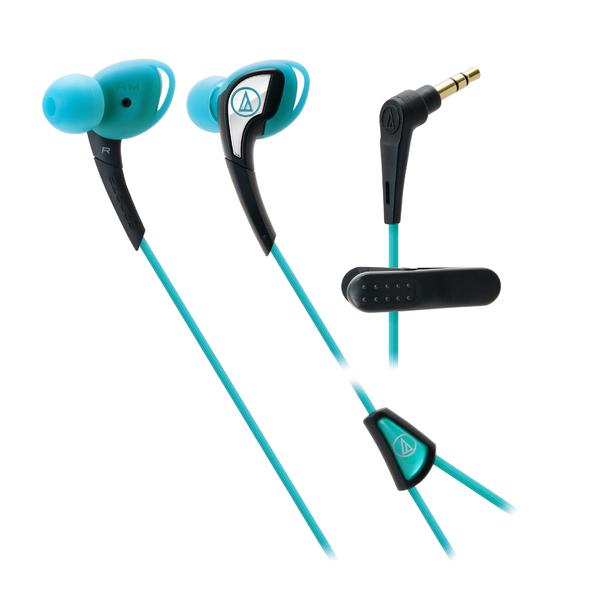 все цены на Внутриканальные наушники Audio-Technica ATH-SPORT2 Blue онлайн