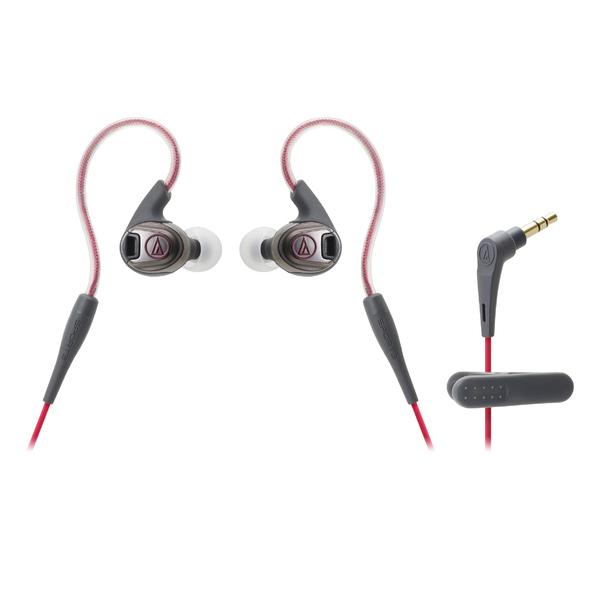 Внутриканальные наушники Audio-Technica ATH-SPORT3 Red цена