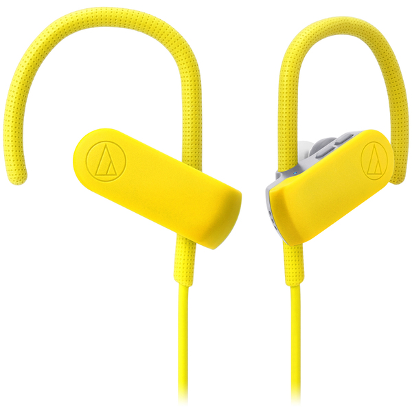 Беспроводные наушники Audio-Technica ATH-SPORT50BT Yellow наушники audio technica ath sport1 yellow