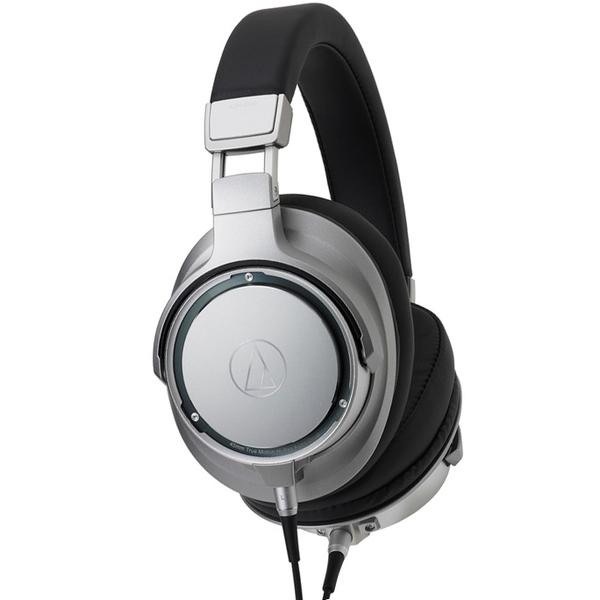 Охватывающие наушники Audio-Technica ATH-SR9 Silver/Black охватывающие наушники audio technica ath pro5mk3 black