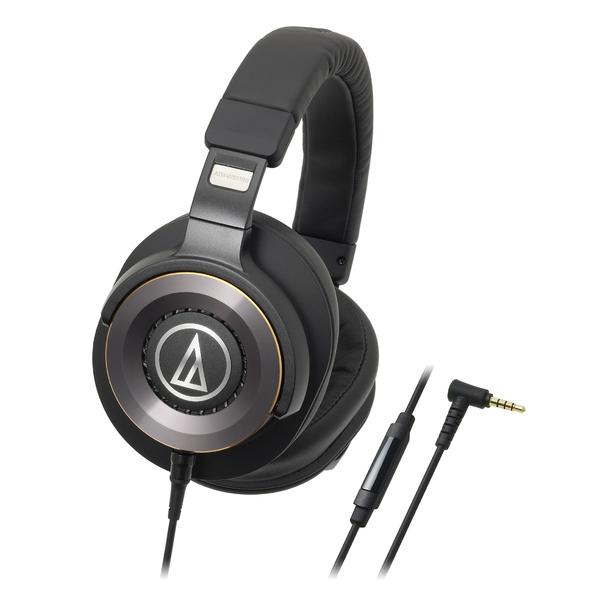 Охватывающие наушники Audio-Technica ATH-WS1100iS Black охватывающие наушники audio technica ath avc500 black