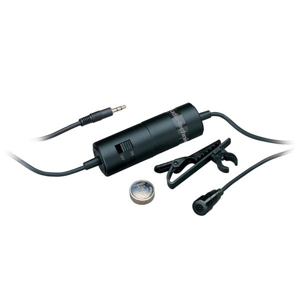 Петличный микрофон Audio-Technica ATR3350 Black