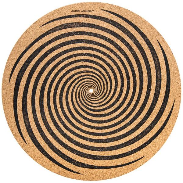 Слипмат Audio Anatomy Slipmat Spiral Cork