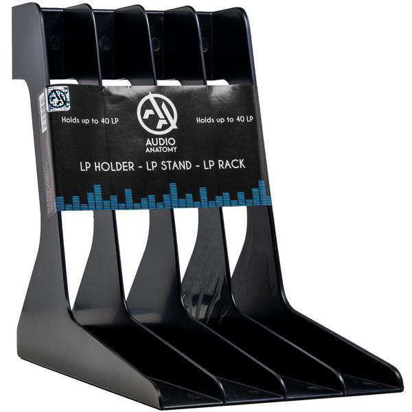 Товар (аксессуар для хранения виниловых пластинок) Audio Anatomy Подставка для виниловых пластинок Vinyl Record Stand Black