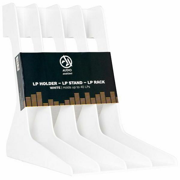 Товар (аксессуар для хранения виниловых пластинок) Audio Anatomy Подставка для виниловых пластинок Vinyl Record Stand White