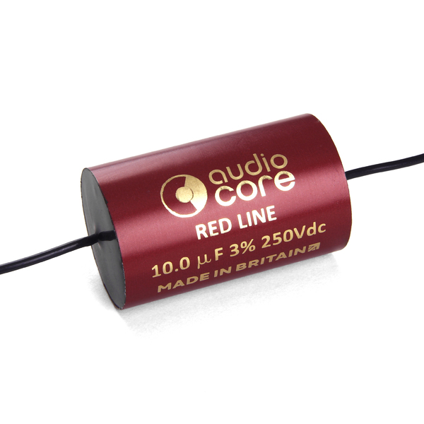 Конденсатор Audiocore Red-Line 250 VDC 10 uF цена и фото
