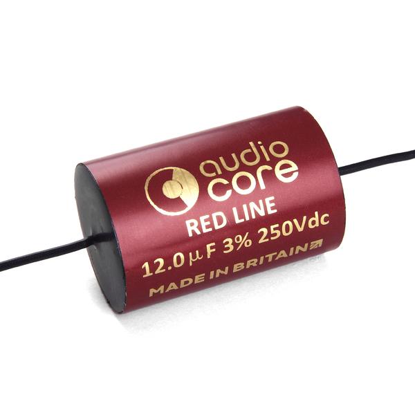 все цены на Конденсатор Audiocore Red-Line 250 VDC 12 uF