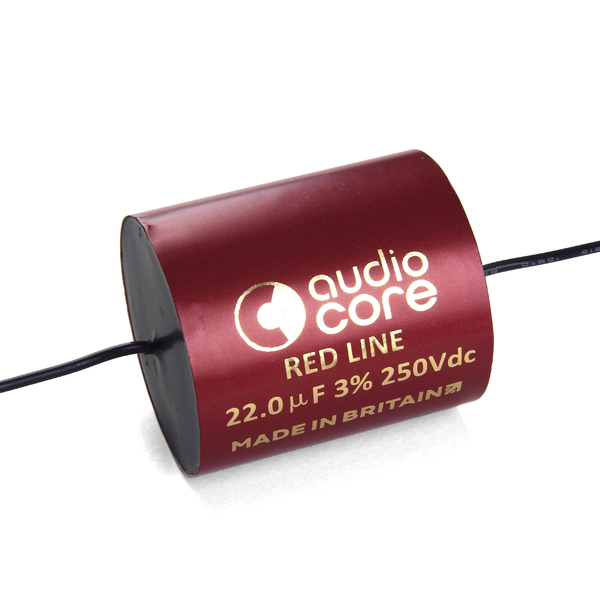 Конденсатор Audiocore Red-Line 250 VDC 22 uF цена и фото