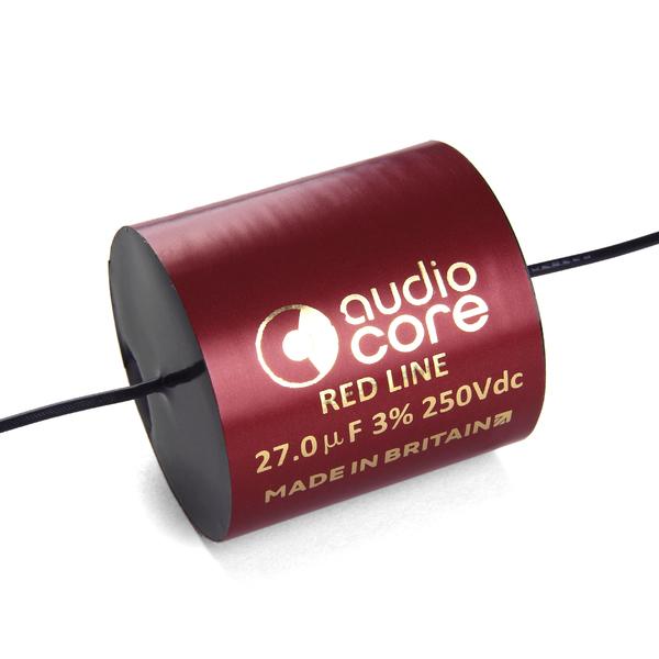 Конденсатор Audiocore Red-Line 250 VDC 27 uF конденсатор audiocore red line 250 vdc 27 uf