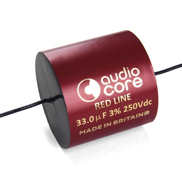 Конденсатор Audiocore Red-Line 250 VDC 33 uF конденсатор audiocore red line 250 vdc 27 uf