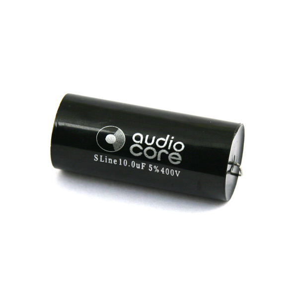 Конденсатор Audiocore S-Line 400 VDC 10 uF конденсатор audiocore s line 630 vdc 0 68 uf