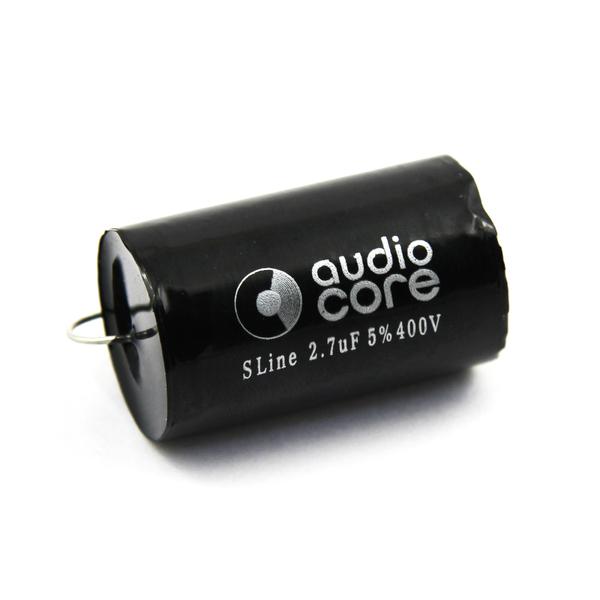 Конденсатор Audiocore S-Line 400 VDC 2.7 uF конденсатор audiocore s line 400 vdc 22 uf