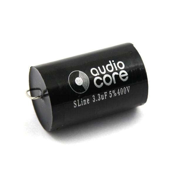 Конденсатор Audiocore S-Line 400 VDC 3.3 uF конденсатор audiocore s line 630 vdc 0 68 uf
