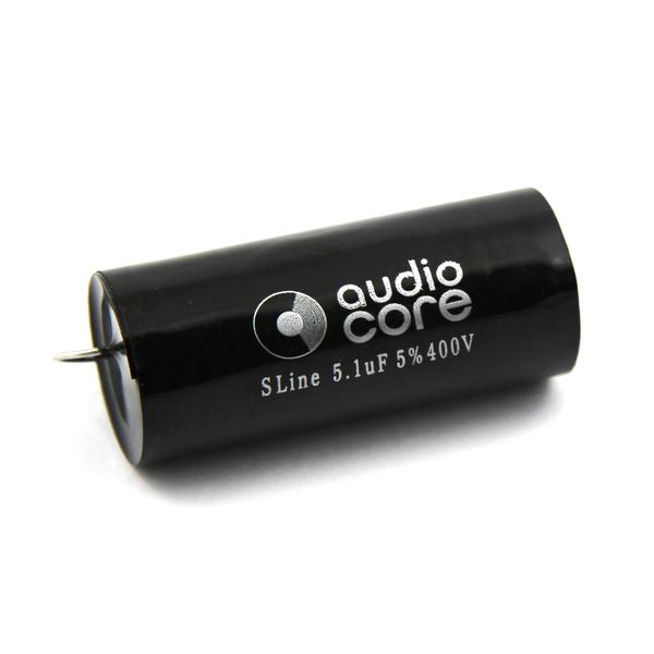 Конденсатор Audiocore S-Line 400 VDC 5.1 uF конденсатор audiocore red line 250 vdc 15 uf