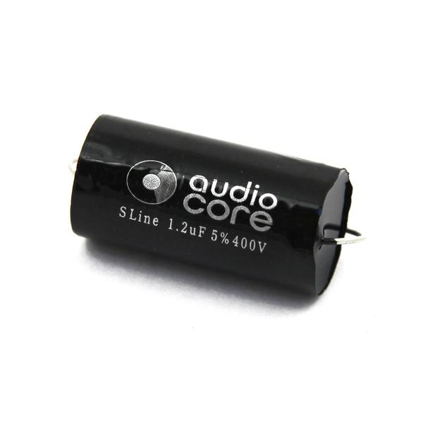 Конденсатор Audiocore S-Line 400 VDC 1.2 uF конденсатор audiocore s line 400 vdc 22 uf