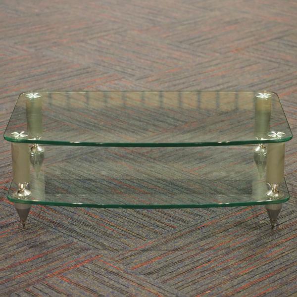Hi-Fi стойка AV 5 Silver/Clear (уценённый товар)  изображение