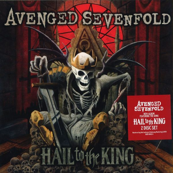 Avenged Sevenfold Avenged Sevenfold - Hail To The King (2 Lp, 180 Gr) venom venom welcome to hell 2 lp 180 gr