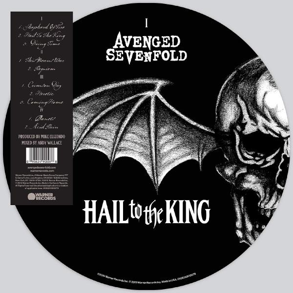 Avenged Sevenfold SevenfoldAvengen - Hail To The King (2 Lp, Picture)