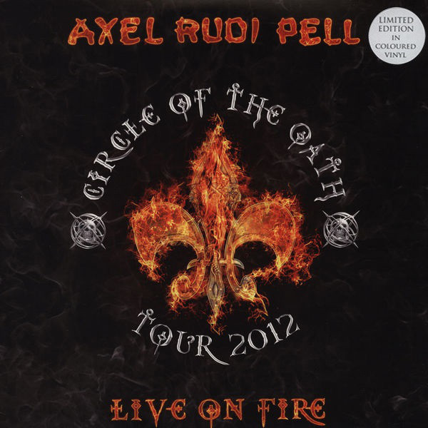 Axel Rudi Pell Axel Rudi Pell - Live On Fire (3 Lp, Colour) рубашка fore axel