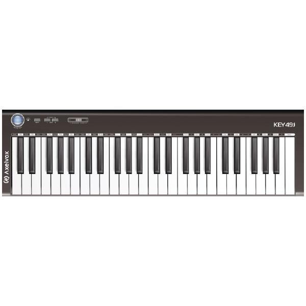 MIDI-клавиатура Axelvox KEY49j Black