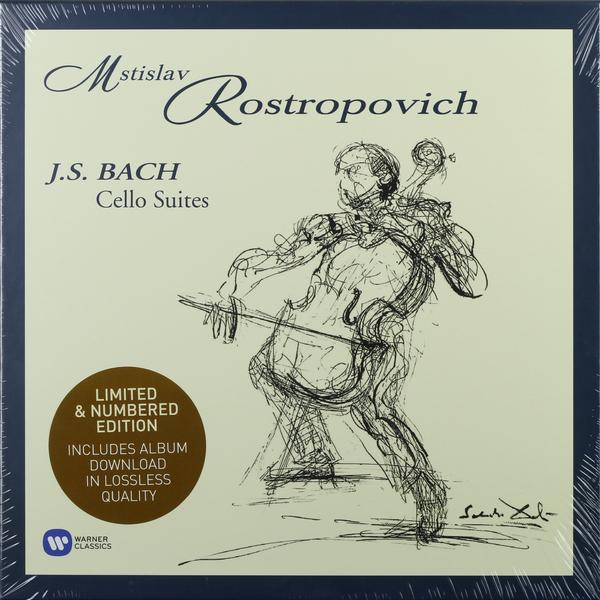 BACH BACH - Cello Suites (4 LP) deltin suites 4 гоа