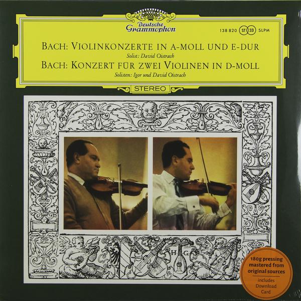 BACH BACH - Violin Concertos  Nos.1   2 (180 Gr) bach bach violin concertos nos 1 2 180 gr