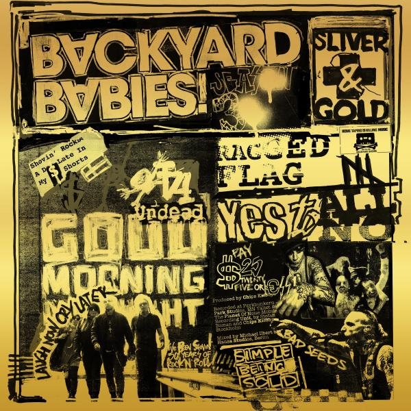Backyard Babies Backyard Babies - Sliver And Gold (lp 180 Gr + Cd) фото