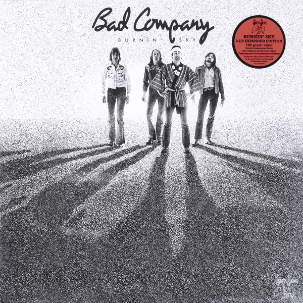 Bad Company Bad Company - Burnin' Sky (2 Lp, 180 Gr) bad company bad company rock n roll fantasy the very best of bad company 2 lp