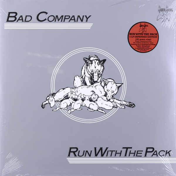 Bad Company Bad Company - Run With The Pack (2 Lp, 180 Gr) bad company bad company rock n roll fantasy the very best of bad company 2 lp