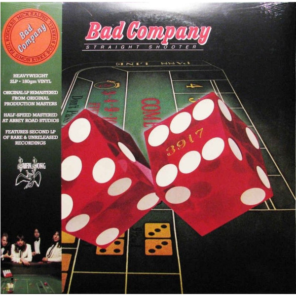 Bad Company - Straight Shooter (2 LP)